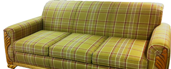 Unique-upholstery-Plaid-Sofa